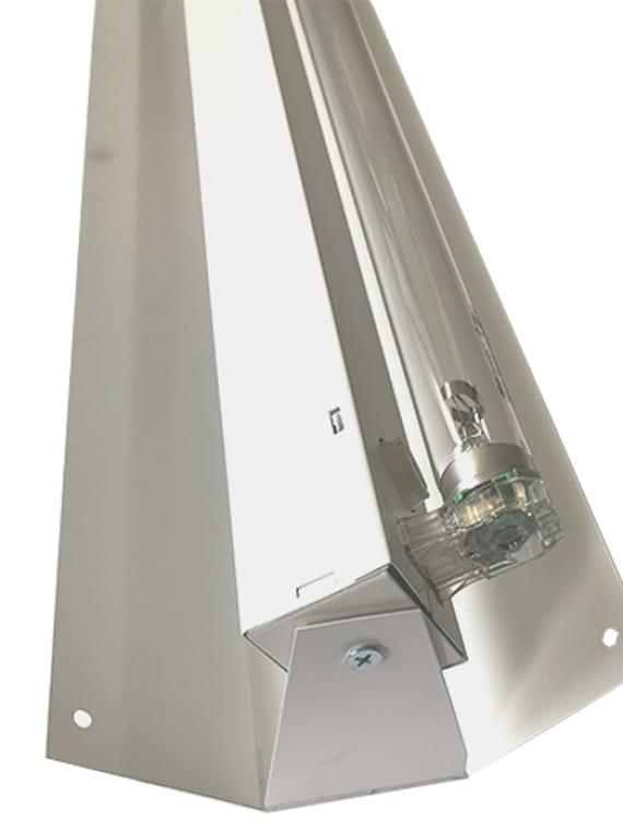 Бактерицидна лампа 15w за дезинфекция на въздух и повърхности допълнително изображение 2