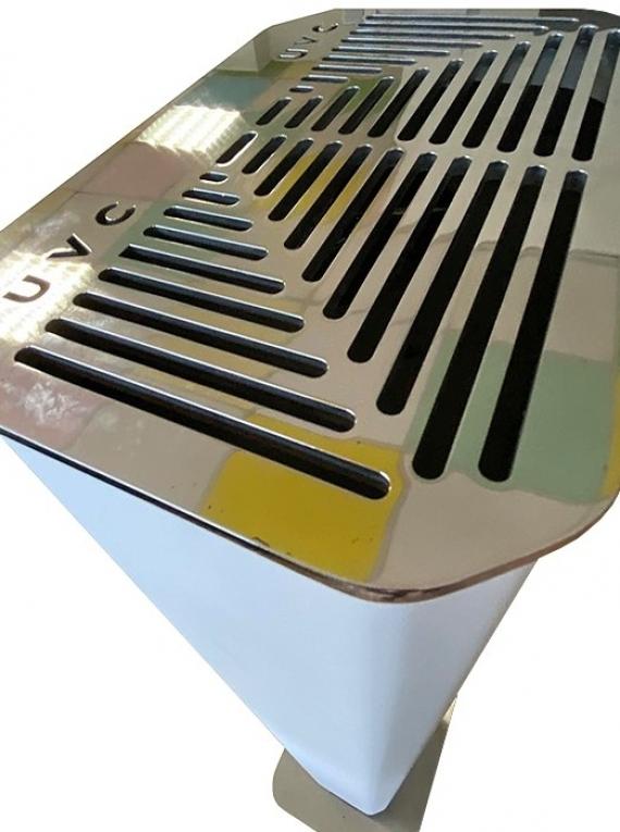 Бактерицидна лампа за дезинфекция на въздух  UVC PRO TOWER допълнително изображение 2