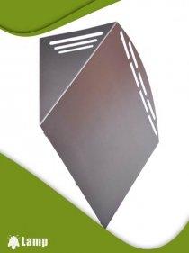 Инсектицидна лампа GRANDE STAINLESS STEEL 15W FEP