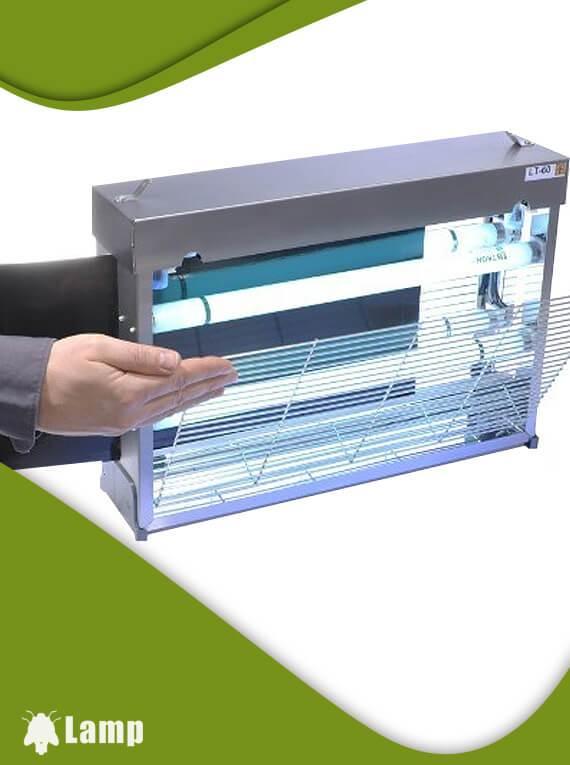 Инсектицидна лампа LT 60 STAINLESS STEEL FEP допълнително изображение 1