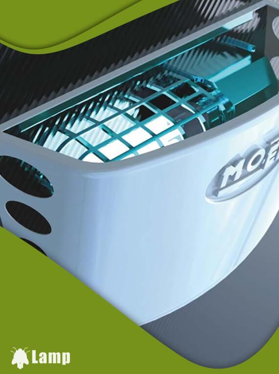 Инсектицидна лампа Mo-El 399 HACCP против мухи и комари в закрити помещения допълнително изображение 2