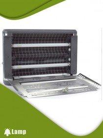 Инсектицидна лампа против комари и комари EDGE INSECT-O-CUTOR Stainless steel