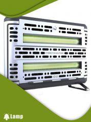 Инсектицидна лампа против комари и комари EDGE INSECT-O-CUTOR Stainless steel - 2