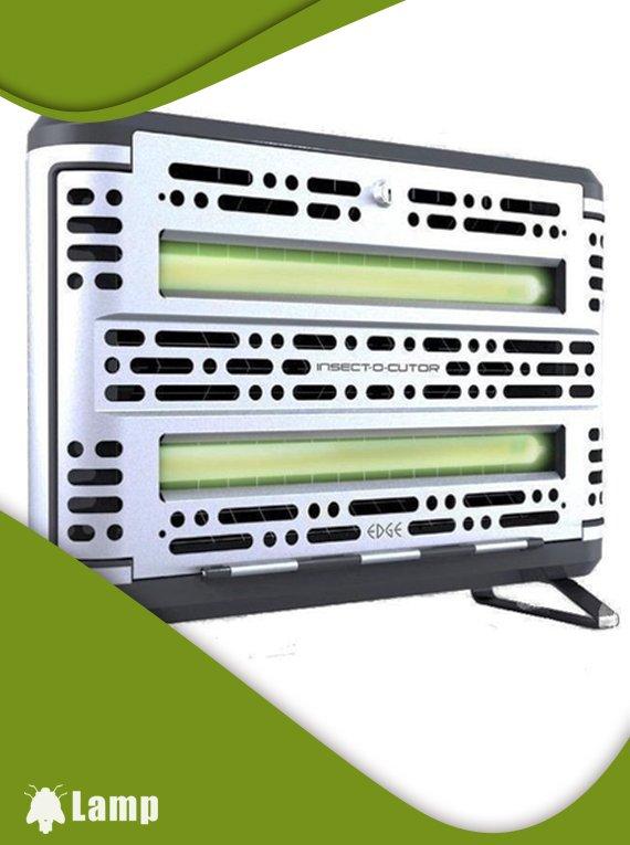 Инсектицидна лампа против комари и комари EDGE INSECT-O-CUTOR Stainless steel допълнително изображение 2