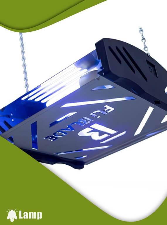 Инсектицидна лампа с декоративен преден панел FliBlade 26 допълнително изображение 3