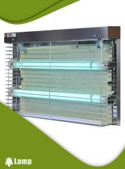 Инсектицидна лампа TRIO STAINLESS STEEL FEP 30W - 1