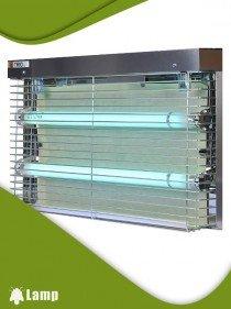 Инсектицидна лампа TRIO STAINLESS STEEL FEP 30W