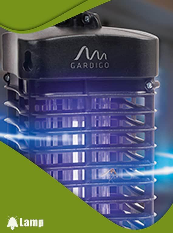 Инсектицидна лампа против комари и мухи GARDIGO 25 QM MIT UV-LICHT допълнително изображение 3