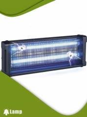 Инсектицидна лампа против комари и мухи GARDIGO FLUGINSEKTEN-VERNICHTER PROFI 2 X 20 W 150 кв.м. - 1