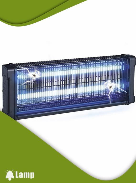 Инсектицидна лампа против комари и мухи GARDIGO FLUGINSEKTEN-VERNICHTER PROFI 2 X 20 W 150 кв.м. допълнително изображение 1