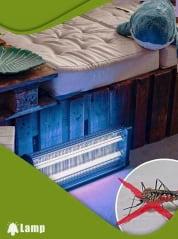 Инсектицидна лампа против комари и мухи GARDIGO FLUGINSEKTEN-VERNICHTER PROFI 2 X 20 W 150 кв.м. - 2