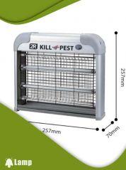 Инсектицидна лампа против комари и мухи Kill pest 12w - 1
