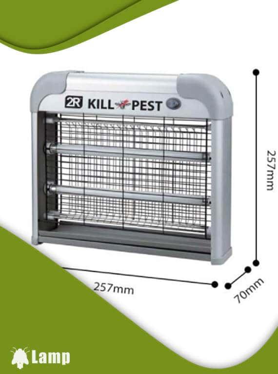 Инсектицидна лампа против комари и мухи Kill pest 12w допълнително изображение 1