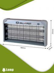 Инсектицидна лампа против комари и мухи Kill pest 30w - 1