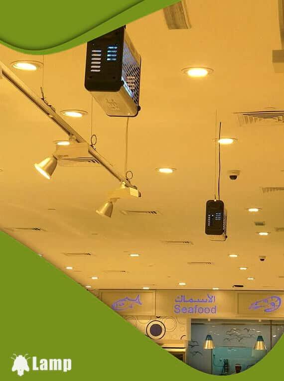 Инсектицидна лампа против комари и мухи PELSIS PLUS ZAP 30W допълнително изображение 2