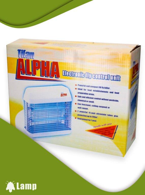 Инсектицидна лампа против мухи и комари Pest West Titan Alpha допълнително изображение 2