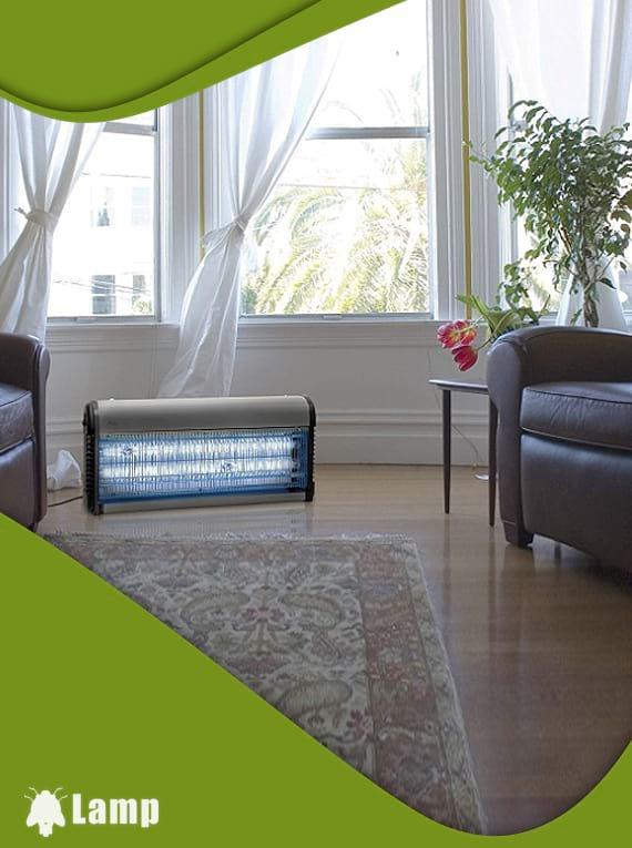 Лампа против комари и мухи Gardigo Fluginsekten-Vernichter Profi допълнително изображение 2