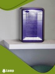 Лампа против комари с ултравиолетова светлина и вентилатори GARDIGO FLUGINSEKTEN-SAUGER DUO - 1