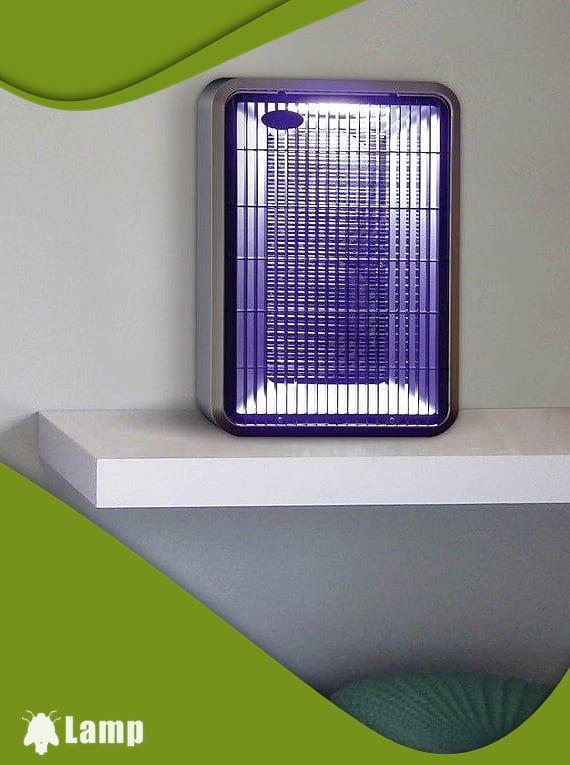Лампа против комари с ултравиолетова светлина и вентилатори GARDIGO FLUGINSEKTEN-SAUGER DUO допълнително изображение 1