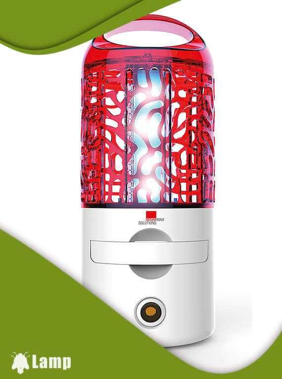 Лампа за унищожаване  на комари, мухи и насекоми LED 10W Swissinno Solutions