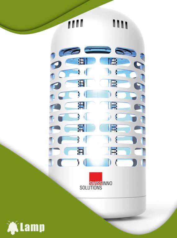 Лампа за унищожаване на комари, мухи и насекоми LED 3W Swissinno Solutions