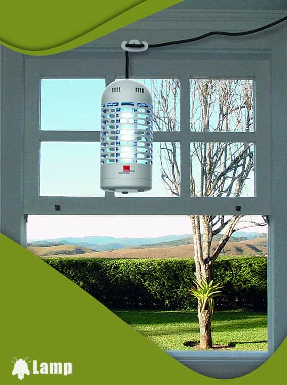 Лампа за унищожаване на комари, мухи и насекоми LED 3W Swissinno Solutions допълнително изображение 1