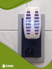 Ултравиолетова LED лампа против комари GARDIGO INSEKTENVERNICHTER-STECKER