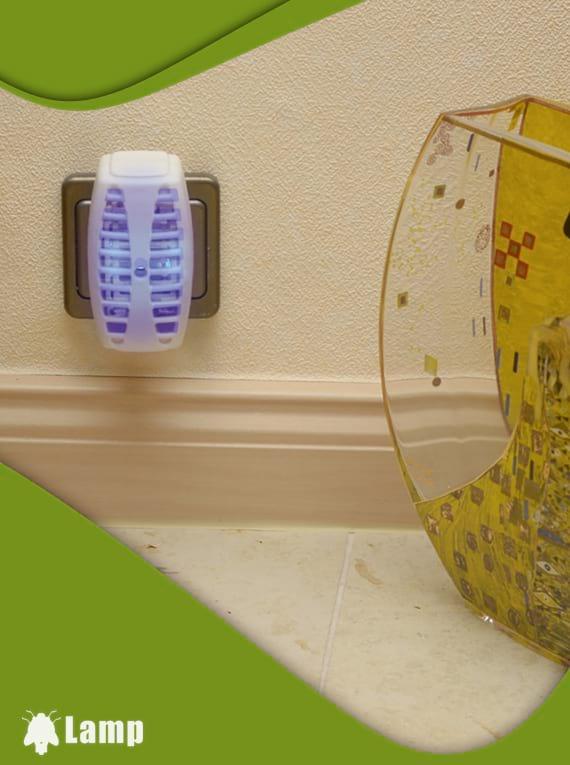 Ултравиолетова LED лампа против комари GARDIGO INSEKTENVERNICHTER-STECKER допълнително изображение 2
